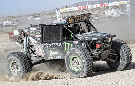 Shannon Campell at the King of the Hammers race