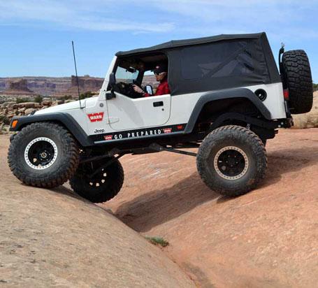 WARN Jeep at the Easter Jeep Safari