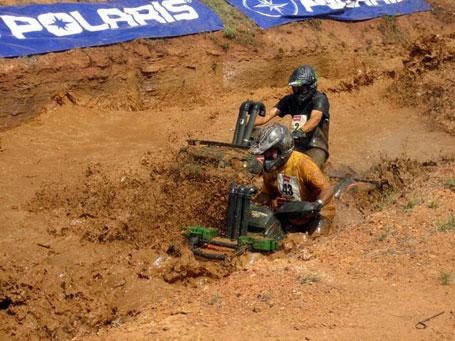 Mud racing at the High Lifter ATV Mud Nationals