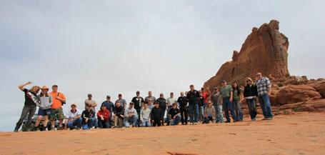 WARN Fans from the 2012 EJS Trail Run