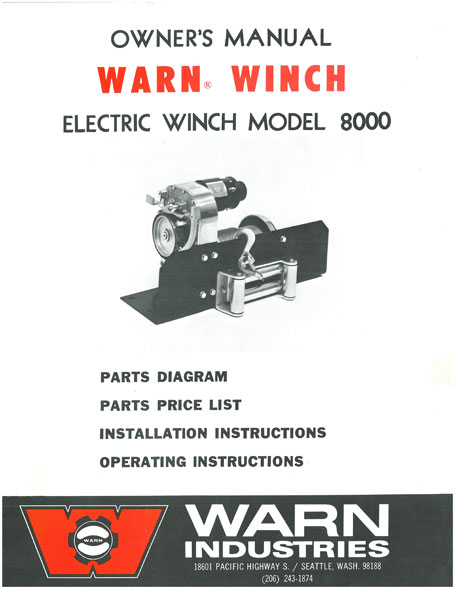 The History Of The Warn Belleview Winch Warn Industries Go Prepared