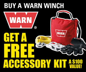 WARN Powersports Winching Accessory Kit Giveaway