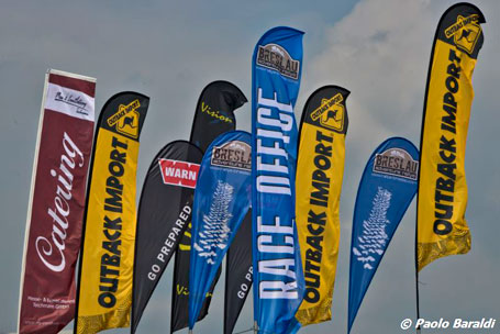 Breslau Rallye Flags