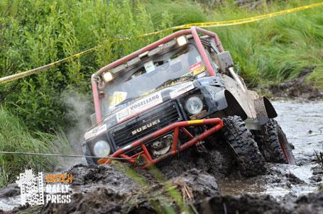 Suzuki Jimny at the Breslau Rally