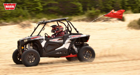 2014 Polaris RZR XP 1000 flat out