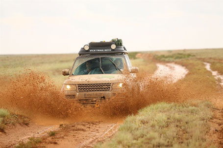 Recently Range Rover Set Out On An Expedition Along The Famous Silk Trail As A Final Engineering Sign Off Test For Sel Hybrid