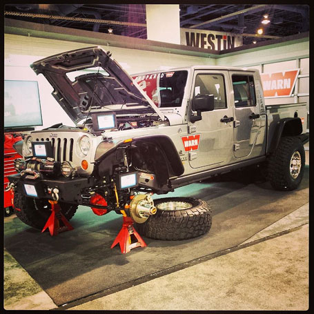 Warn Industries' AEV Brute Double Cab project at the 2013 SEMA Show